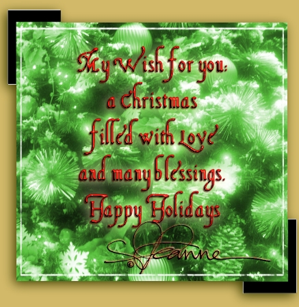 Christmas Wishes on Home N  Hearth   Christmas Wishes   Thanks   Leanne Wildermuth